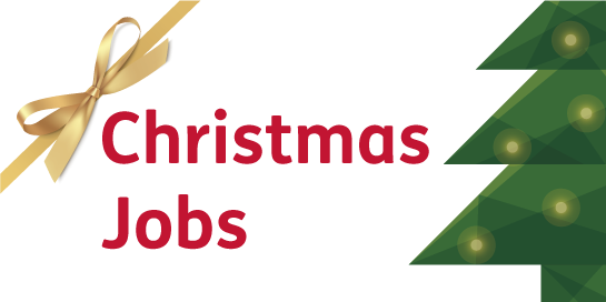 Search our latest Christmas jobs