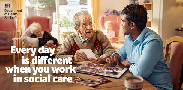 With many rewarding roles available, every day is different when you work in social care.